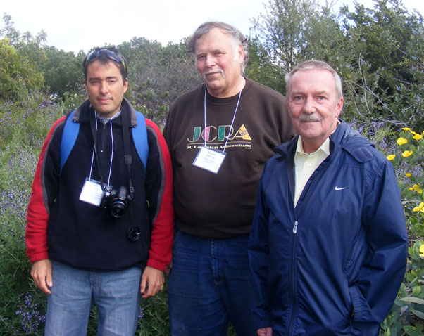 Rolando Uria, myself, and Robin Middleton